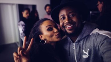 Cassper Teases Pearl Thusi For Falling Off A Horse