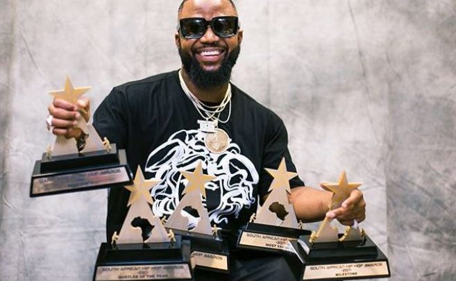 Check Out Cassper Nyovest's Full List Of Awards