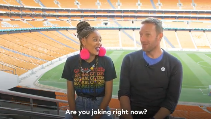 Sho Madjozi Records Song With Coldplay's Chris Martin