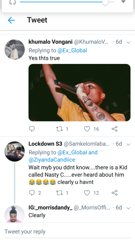 Fans React To Ex Global Calling A Reece The Best African