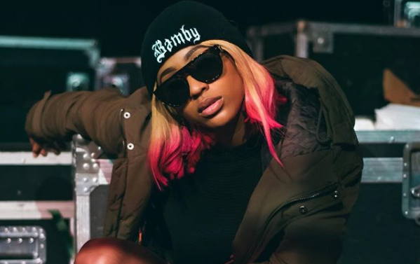 Nadia Nakai Celebrates Her First TV Commercial