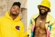 Cassper Responds To L-Tido Trolling Him For His Shirtless Picture