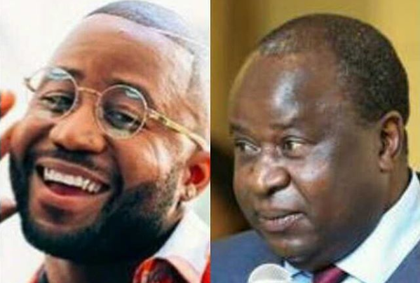 Cassper Makes International Headlines After Tito Mboweni's Appointment