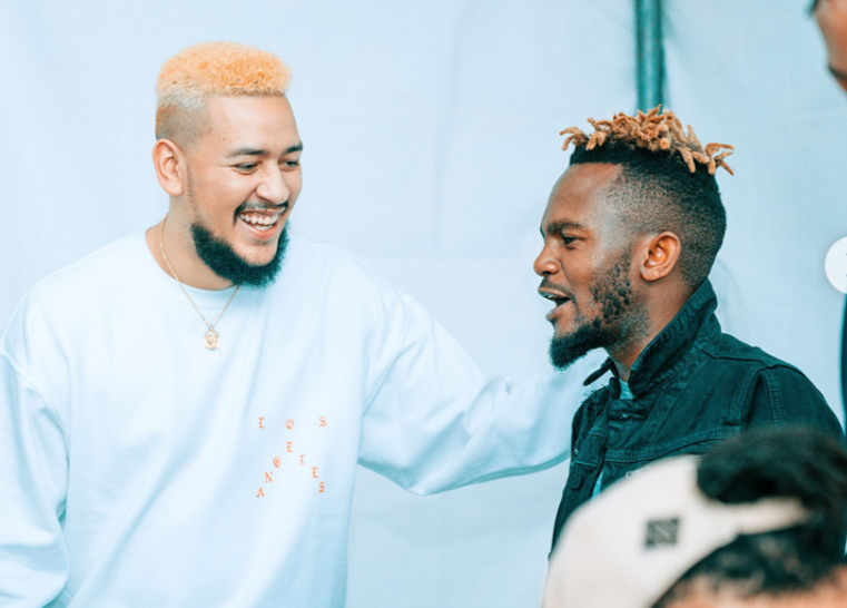 Kwesta Congratulates AKA For 'Fela In Versace' Hitting 1 Million Views