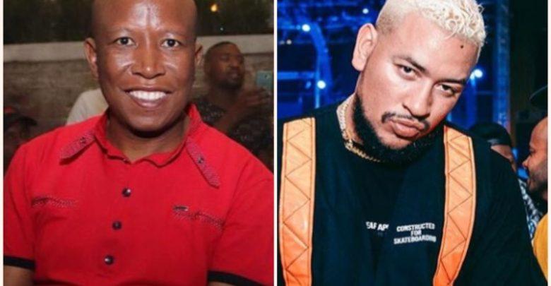 Julius Malema Bothered By AKA's Song Dominating Radio