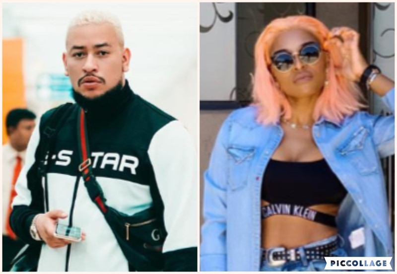 Watch! AKA And Zinhle Cruising In A Sports Car In Cape Town