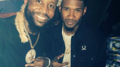 Watch! Cassper & Usher's Dance Off To Black Coffee's Mix