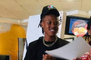 Nasty C Shows Off His Diamond Flooded Rings & Chains