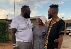 Fans Go Crazy After Kwesta Takes Rick Ross To The Hood