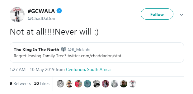Chad Da Don Responds To Whether He Regrets Leaving Family Tree 2