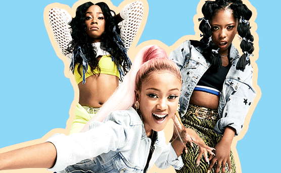 Moozlie, Rouge & Gigi Open Up About The Challenges They've Faced As Female Rappers 1
